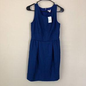 J. Crew Blue Cocktail Dress *NWT